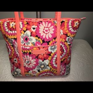 Vera Bradley Pixie Blooms Large Tote Bag